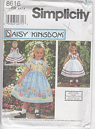 Daisy Kingdom - Girls - Doll Dresses - Sz 5-8