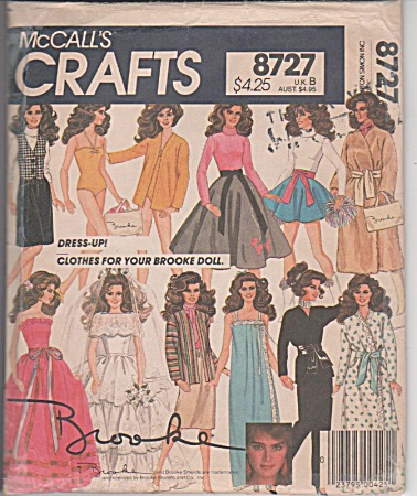 Brooke Shields - 11pc Wardrobe - 8727 - Oop