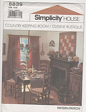 Vintage - Rustique Home Decor - 1988 - Oop