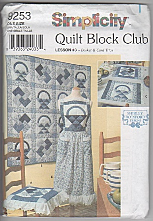 Simplicity - Quilt Block Club - Lesson 3 - Basket -