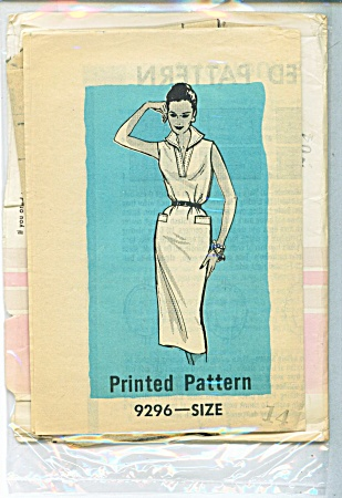 Vintage Marian Martin Dress Pattern - Sz 14