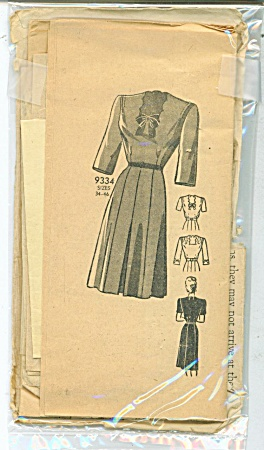Vintage Marian Martin Ladies Dress Pattern -
