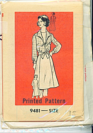 Vintage Marian Martin - 2pc - Dress Patternsz18