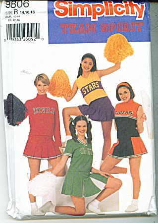 SIMPLICITY PATTERN CHEER LEADER (Image1)