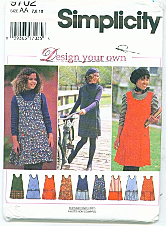 SIMPLICITY PATTERN DESIGN YOUR OWN (Image1)