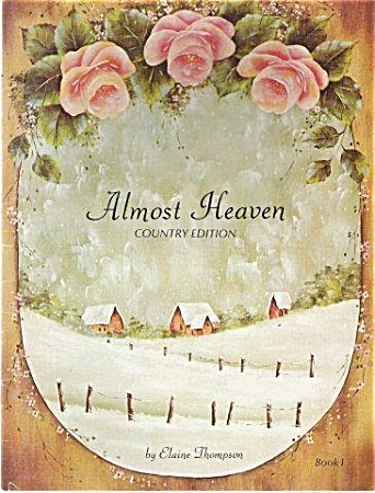 Almost Heaven Paint Book by Elaine Thompson (Image1)