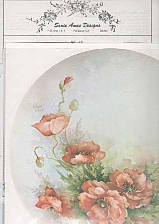 Vintage - Sonie Ames - Designs - China Painting 13