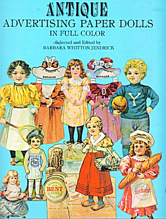 Antique Advertising Paper Dolls Color