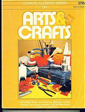 VINTAGE ARTS AND CRAFTS BOOK (Image1)