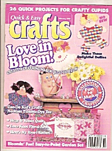 Quick & Easy Crafts -  February 1995 (Image1)