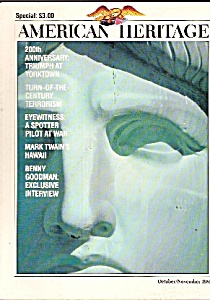 American Heritage -  October/November 1981 (Image1)
