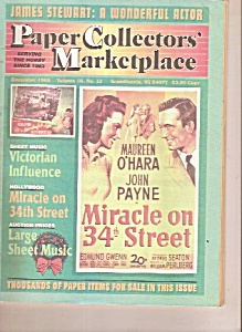 Paper Collectors' Marketplace - December 1998