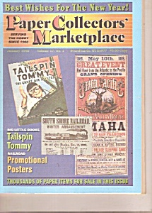 Paper Collectors' Marketplace -  January 1999 (Image1)