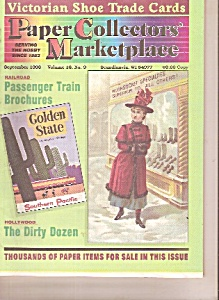 Paper Collectors' Marketplace -  September 1998 (Image1)