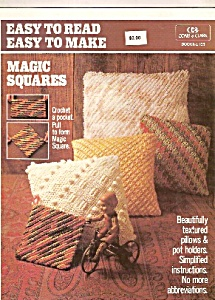 Easy to read easy tomake MAGIC SQUARES - 1984 (Image1)