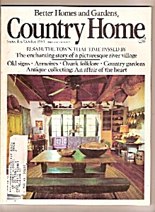 Better Homes and Gardens country home -  Sept., Oct/. 1 (Image1)