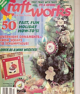 Craftworks magazine-  december 1994 (Image1)