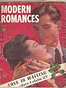 Modern Romances -  January 1944 (Image1)
