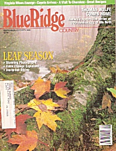 Blue Ridge Country - September/october 1990