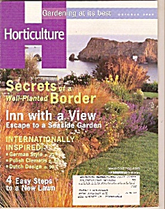 Horticulture -  October 2002 (Image1)