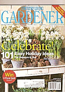 Country Living Gardener -  Winter 2004-2005 (Image1)