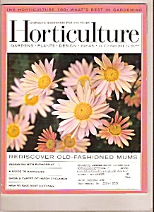 Horticulture -  October 2004 (Image1)