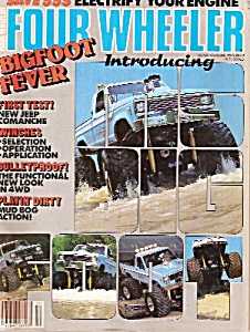 Four Wheeler magazine -  October 1985 (Image1)