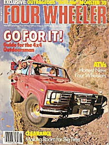 Four Wheeler magazine -  May 1985 (Image1)