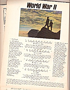 World War II magazine-  1987 (Image1)