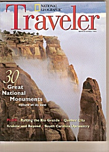 National Geographic Traveler -  March/April 1995 (Image1)