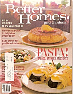 Better Homes and Gardens -  January 1983 (Image1)