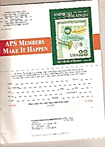 American Philatelist -  April 2000 (Image1)