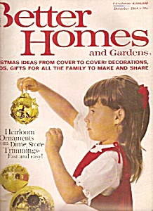 Better Homes and Gardens magazine- December 1964 (Image1)