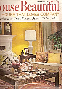 House Beautiful -  November 1967 (Image1)