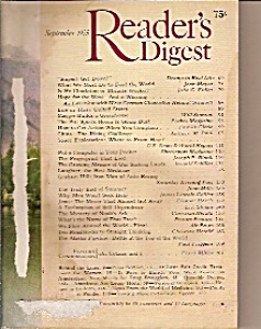 Reader's Digest = September 1975