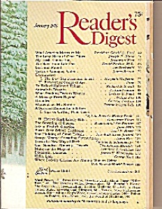 Reader's Digest - January 1976
