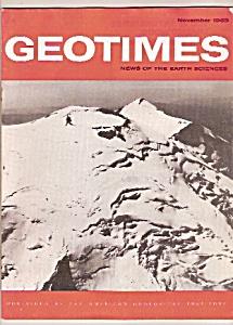 GEO TIMES  - November 1969 (Image1)