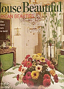House Beautiful magazine -  June 1968 (Image1)