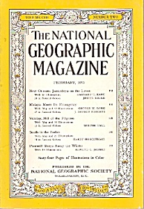 National Geographic -  February 1953 (Image1)