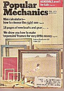 Popular Mechanics - Feb. 1973 (Image1)