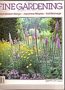 Fine Gardening magazine - JulyAugust 1993 (Image1)
