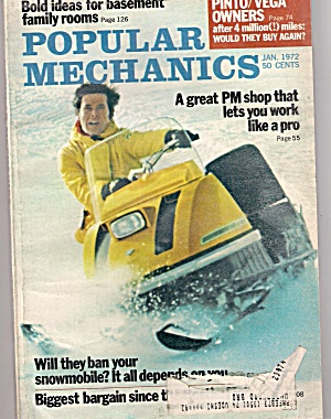 Popular Mechanics - Jan. 1972