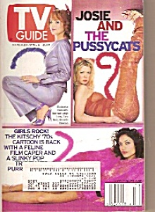 TV Guide -  March31 - April 6  2001 (Image1)