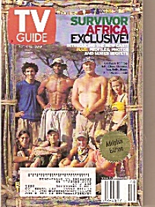 Tv Guide - October 6 To 12 , 2001