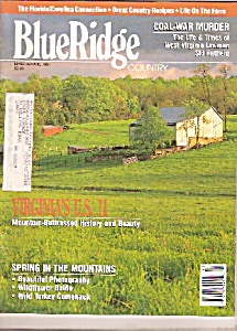 Blue Ridge Country - March/april 1991