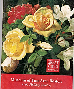 Museum of Fine Arts, Boston catalog -  1997 holiday (Image1)