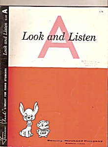 Look And Listen-piano Studies Jan. 1, 1962