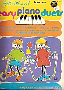 Easy Piano Duets - Book One - 1971??