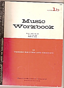 Music Workbook For Piano Students - Copyright 1957