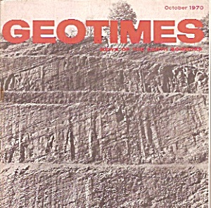 Geo Times - October 1970